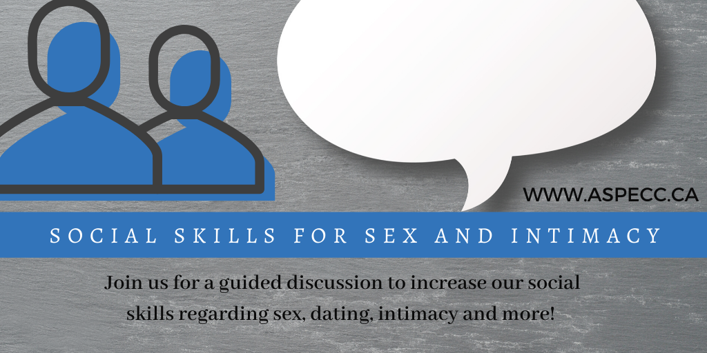 Social Skills for Sex and Intimacy