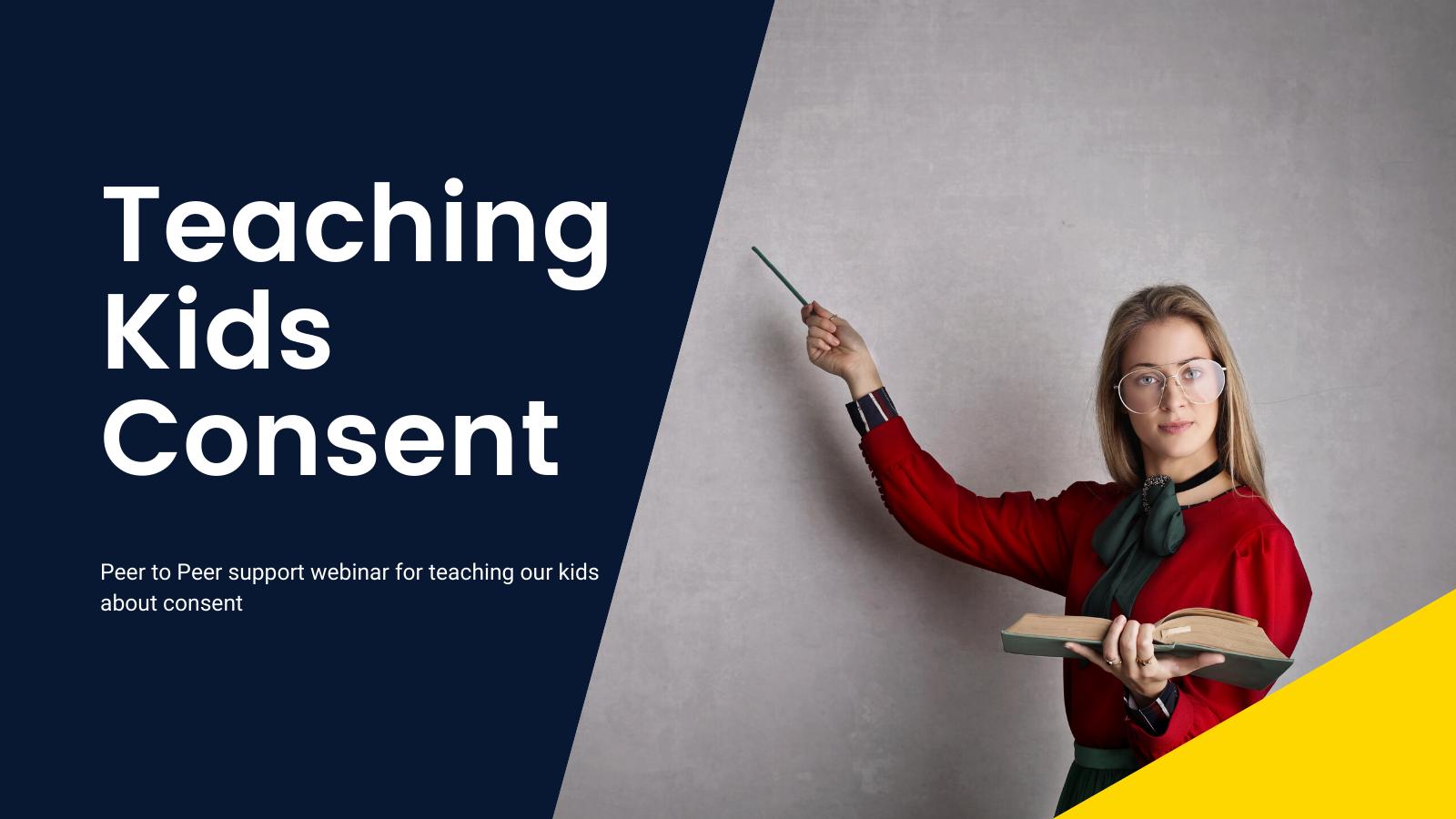 Teaching Kids Consent