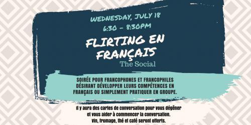 Copy of Flirting en francaisThe Social